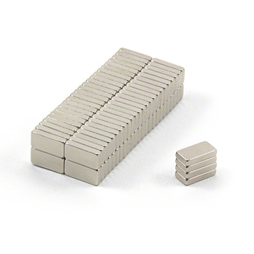 Magnet Expert® 10 x 5 x 2mm N42 néodyme aimants, 1,1kg force d'adhérence, pack de 100