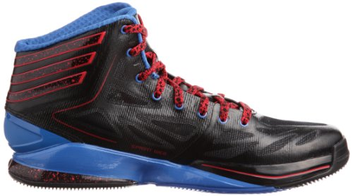 adidas Adizero Crazy Light 2, Baskets homme Noir - Schwarz (Black 1 / Radiant Red F10 / Prime Blue S12)