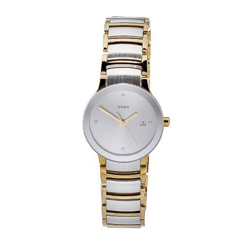 Rado Damen-Armbanduhr XS Analog Quarz Gelbgold 111.0932.3.071