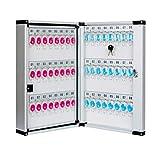 MMNP Boîte Clé Aluminium Clé Cabinet Mural Boîte De Gestion Accueil De Stockage Principal Cabinet Immobilier Boîte À Clés (Size : 99keys)...