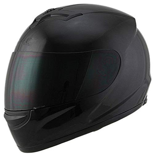 Berrd Flying Tigers Mode Motorradhelm Damen Motorradhelm Motorrad Ohrenschützer Integralhelm Ml Xl Xxl schwarz glänzend XXL