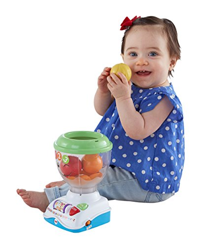 Fisher Price Laugh and Learn Mix 'N Learn Blender, Multi Color  available at amazon for Rs.1100