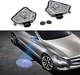 Sunshine Fly 2 stücke LED Seite Unter Spiegel Projektor Licht Geist Logo Willkommen Ambient Lampe Auto Ersatz Rücklicht Zubehör Warnleuchte