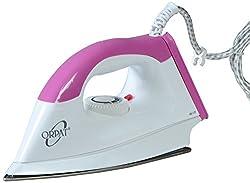 Orpat OEI-177 1000-Watt Dry Iron (Pink)