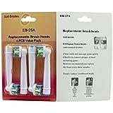 4pcs Brosse à dents électrique Têtes de remplacement pour Braun Oral-B Floss Action NEUF UK