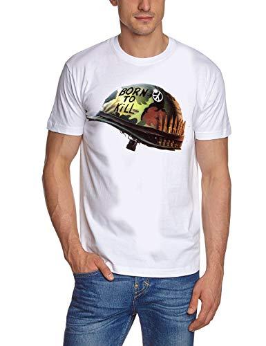 Full Metal Jacket borm to Kill T-Shirt White Gr.M Full Metal Jacket Shirt