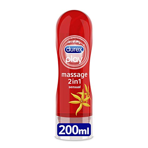 Lubricante Durex Play Massage 2 en 1 por sólo 7,54€