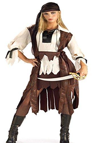 n Fluch der Karibik Pirat Piratenkostüm M-L 40 42 (Frauen Fluch Der Karibik Kostüm)