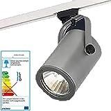 Tubular Strahler weiß HQI HCI für Stromschiene Leuchte für 70 Watt PHILIPS CDM Lampe 44 Grad Wideflood