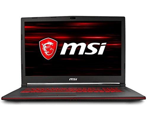 MSI 9S7-17C612-207 Notebook Gaming Laptop (Intel Core i7-8750H, 1000GB Festplatte, 8GB RAM, GeForce GTX 1050Ti, kein Betriebssystem) Schwarz