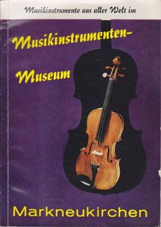 Musikinstrumenten-Museum Markneukirchen Broschüre