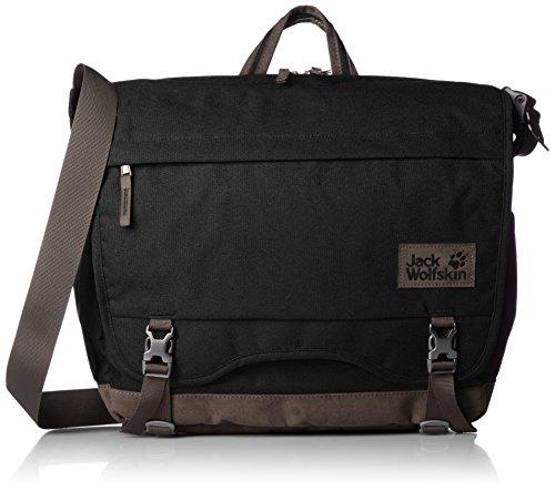 Jack Wolfskin Camden Note Messenger Bag One Size schwarz (Bag Laptop-messenger Kipling)