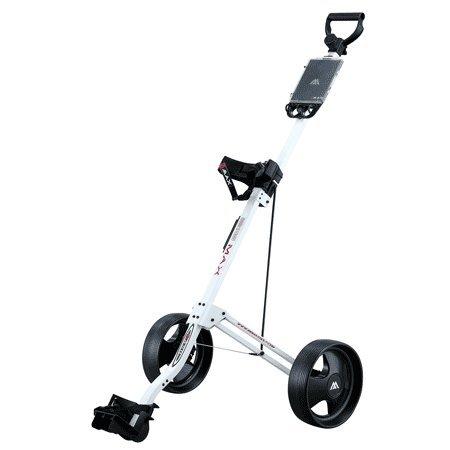Big Max Basic Golf Trolley 2 Rad Push Farbe: Weiss