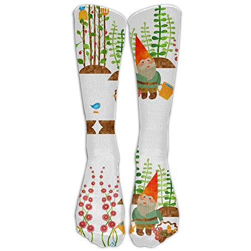 jiilwkie A GNOME Without His Gardening Tools Crew Stockings Graduated Compression Socks for Women and Men - Best Medical, Nursing, Travel & Flight Socks Usa Compression-tool