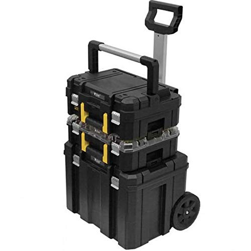 Kit Trolley con surtido autorreparación en TSTAK + atornillador A impulsos dcf894+ herramientas surtidos dwusk038DeWALT