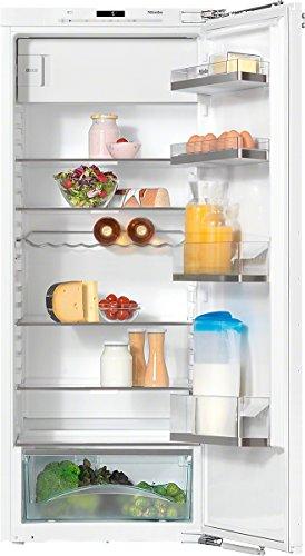 Miele K35442iF EU2 Kühlschrank/A++/139.5 cm Höhe/189 kWh/Jahr/Individuell verstellbare Glasbodenbeleuchtung dank Flexilight/Reinigung der Türabsteller im Geschirrspüler - Comfort Clean