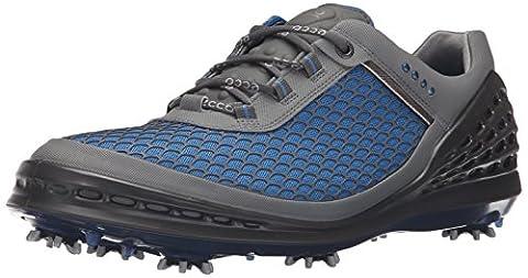 Ecco Men'S Cage, Chaussures de Golf Homme, Blau (50086BERMUDA Blue-Ombre/Bermuda Blue), 44 EU