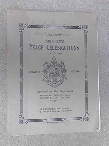 Children's Peace Celebrations August