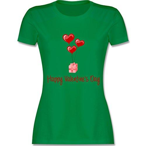 Valentinstag - Happy Valentine's Day Geschenk Herz Luftballon - tailliertes  Premium T-Shirt mit Rundhalsausschnitt