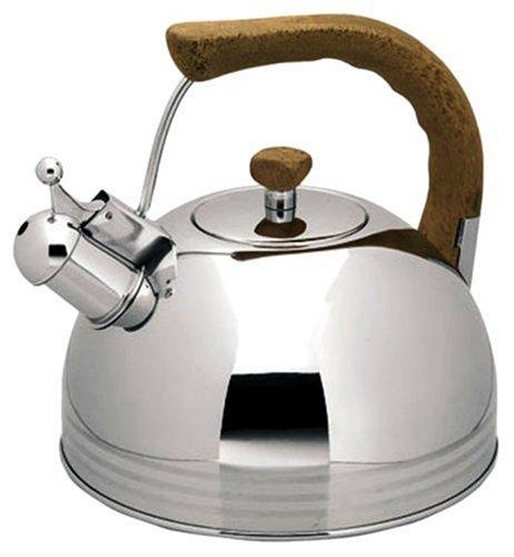 Lacor 68619 - Cafetera silbante o cafetera pava, de 2.0 litros.
