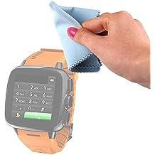 DURAGADGET Gamuza Limpiadora Para reloj Intex IRist - WatchPhone | Ksix BXSW02 | BXSW01 | Excelvan K88H | Garmin Forerunner 910XT - Ideal Para Mantener Su Dispositivo Intacto