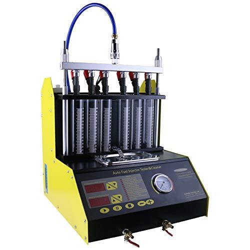 Preisvergleich Produktbild WANGYONGQI CT200 gaso-nline 6 / 4 Zylinder Auto Motorrad Auto Ultrasonic Injector Reinigung Tester Maschine 220 / 110 V Besser als Start