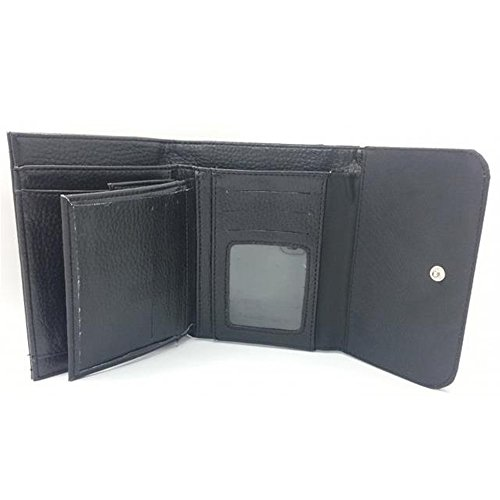 Image of Medium Faux Leather Wallet with card slot // M00154906 Birch Bark Texture Light Plen?¡¥nka // Medium Size Wallet