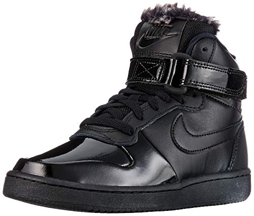 online store d8187 17be9 Nike Wmns Ebernon Mid Prem, Zapatos de Baloncesto para Mujer, Negro Black  001,