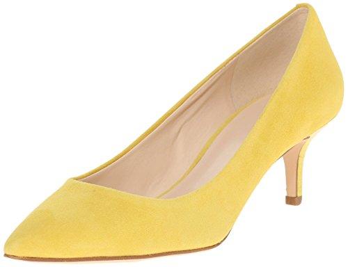De Amarelo Escritório Grande Em Nubuck Baixas Apontado Deslizamento Ubeauty Tamanho Senhoras Sapatos Bombas Vendas Dedo Ud6nfXxw