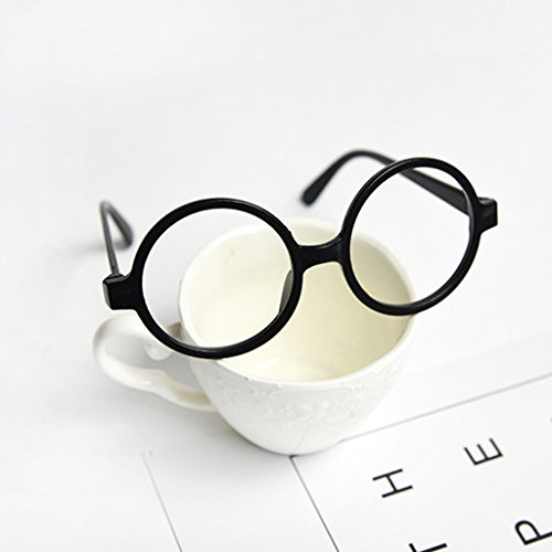 Freshsell-Childrens-Kids-Round-Shape-Black-Or-Red-Frame-Harry-Potter-Glasses