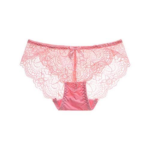 WUJIANCHAO (3 stücke) sexy Nahtlose Damen volle Spitze unterwäsche atmungsaktive Briefs Silk Hosen E M-Taille: 26 - Fünf-knopf-petite Jeans