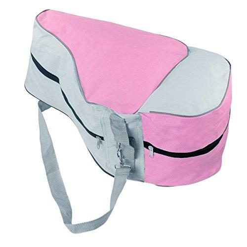 Fletion Roller Inline Skating Carry Bag Adjustable Shoulder Strap Schlittschuhtasche Skates Tasche (Skating Tasche)