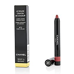 Chanel Le Crayon Rouge De Couleur Jumbo Lip Pencil A Long-Lasting Color 2 Rose Violin