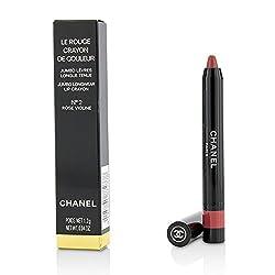 Chanel Le Crayon Rouge De Couleur Jumbo Lip Pencil A Long-Lasting Color 2 Rose Violin