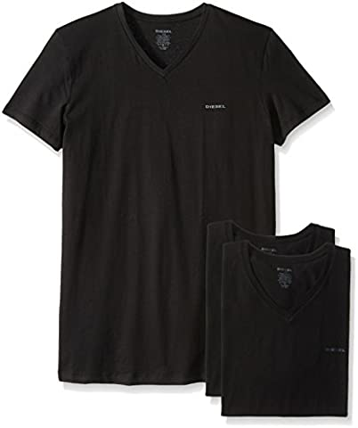 DIESEL Herren V-Shirt schwarz S