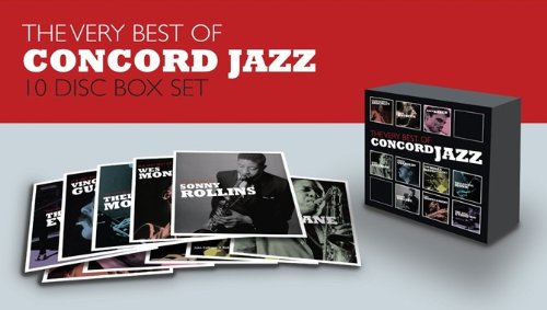 JAZZ CD, The Very Best Of Concord Jazz [10CD Box Set] Various Artists[002kr]