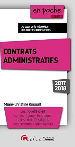 Contrats administratifs