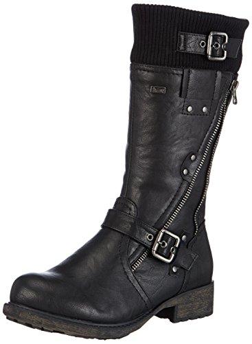 Rieker Kinder Rieker Teens, Boots fille Noir (01)