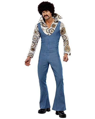 Dancer 70er Jahre Kostüm Groovy - Horror-Shop 70er Jahre Groovy Dancer Kostüm XL