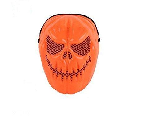 VPlus 2 Stücke Halloween Geist Kürbis Schädel Grimasse Maske Maskerade Party Kostüm Maske Requisiten Festa Infantil Shabby Chic Decor neu