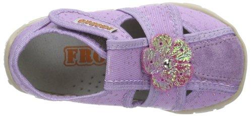 Froddo  Froddo Girl Lila Slipper G1700042-4, Chaussons pour fille Violet - Violett (Lila)