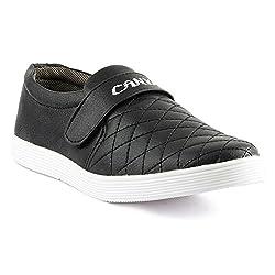 PAN Black Color Mens Casual Shoes
