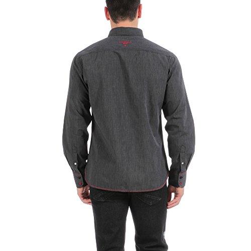 Ruckfield - Chemise grise rugby France - Noir Noir