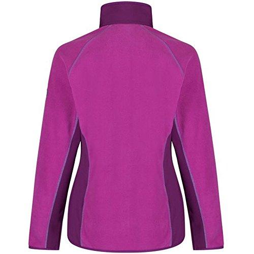 Regatta Womens/Ladies Jomor Sporty Hybrid Stretch Fleece Jacket Vivid Viola / Winberry