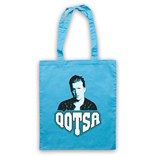 Inspiriert durch QOTSA Queens Of The Stone Age Josh Homme Inoffiziell Umhangetaschen Hellblau