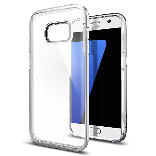 iPhone 7 Case + iPhone 7 Screen Protector , ILUXUS® Ultra Thin [1.5mm] Transparent Clear Soft Gel TPU Silicone Case Cover for Apple iPhone 7(2016) (Jelly Clear) Crystal Silver