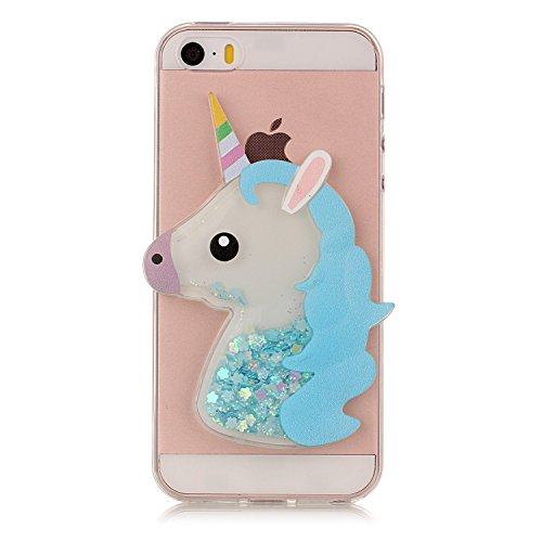 xifanzi Soft 3D Silicone Case for Apple iPhone 5 & iPhone 5S ...