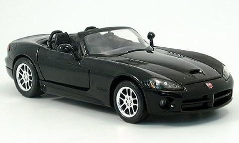 Dodge Viper SRT-10, schwarz, 0, Modellauto, Fertigmodell, Welly 1:24