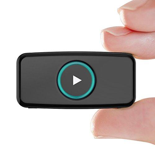 Ricevitore Bluetooth, Doosl® Bluetooth portatile V4.1 ricevitore di musica Adattatore audio Porta Stereo 3,5 mm
