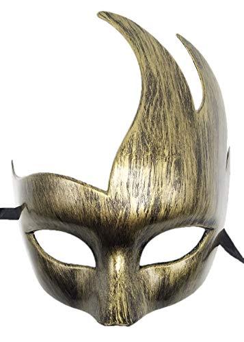 Coolwife Herren Venezianische Maskerade Maske Klassische Design Prom Mardi Gras Masken (Antikes ()